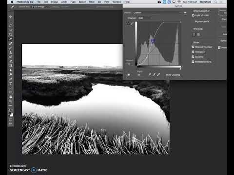Creating a simple digital negative