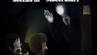 Roblox - SlenderMan Mod - first impression - Slendarman Drawing on the Wall