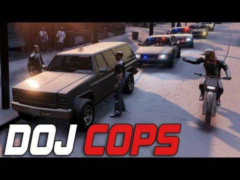 Dept. of Justice Cops #32 - Hit & Run! (Criminal)