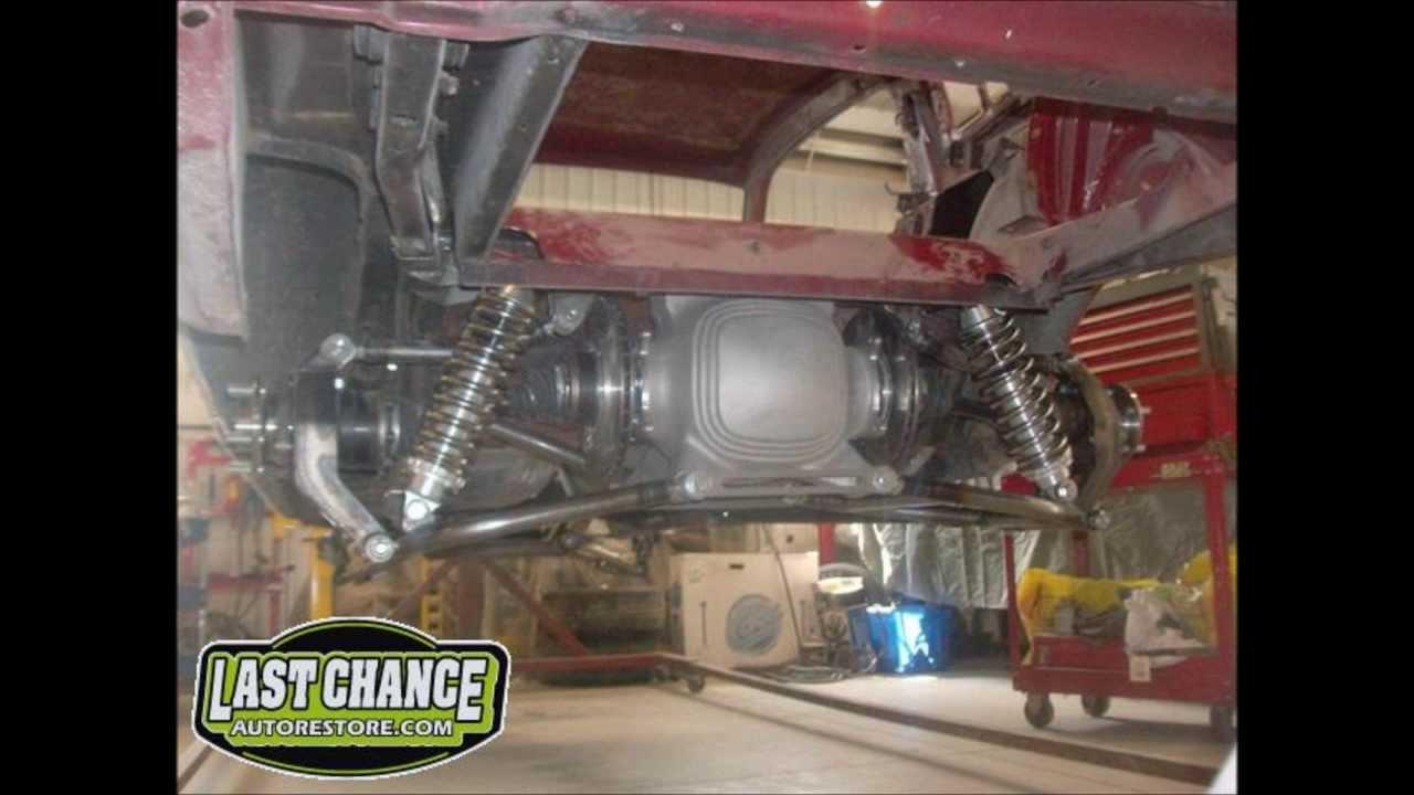 Heidts Rear Suspension, Classic Mustang, By lastchanceautorestore com