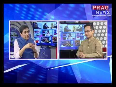 Xhakhyat with Editor-in-chief Ajit Kumar Bhuyan