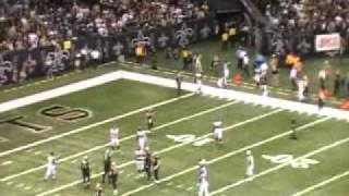 Drew Brees Breaks All Time Single Season Passing Yards Record (LIVE AT DOME)