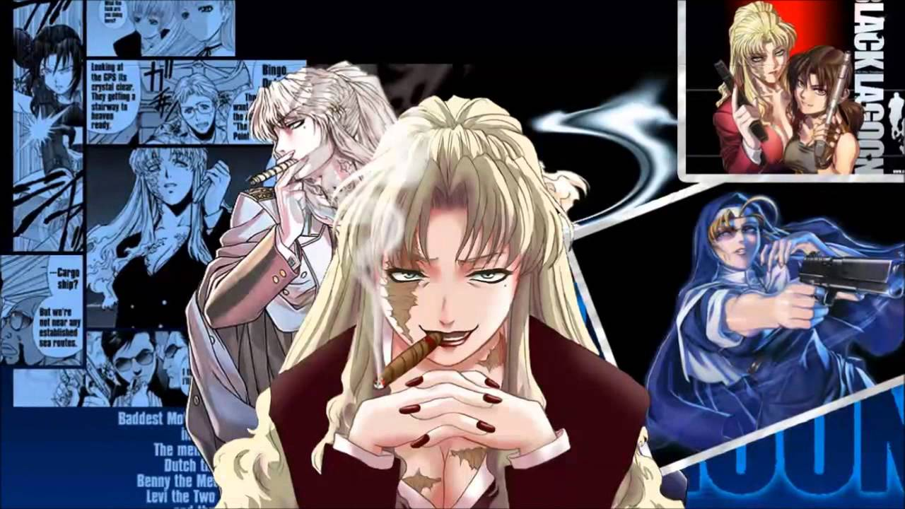 Anime Badass Girl Main Character