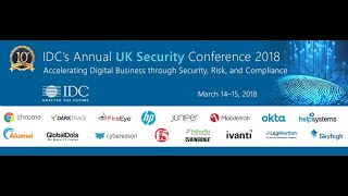 IDC UK Security Conference 2018