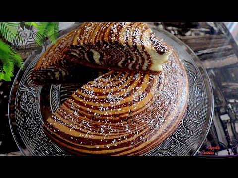recette-du-fameux-gâteau-zébré-moelleux-et-facile---zebra-cake-recipe-😋😋