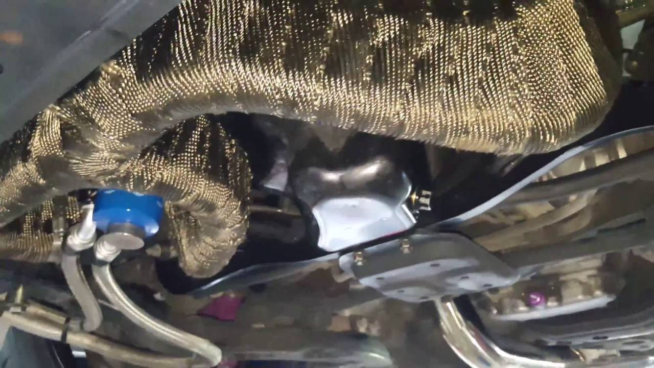 Exhaust Heat Wrap >> WRAPPING My WRX STi Tomei Header - Ep. 41 - YouTube
