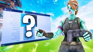 THE BEST CONTROL SENSIBILITY IN FORTNITE *WILL MAKE YOU IMPROVE TOO MUCH AND IT WILL GIVE YOU AIMBOT*