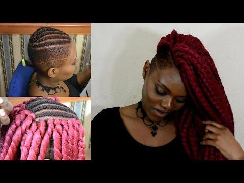 FLAWLESS Havana Twist w/ Shaved Sides!! | Crochet Braids