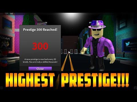 REACHING PRESTIGE 300!!! *PRISMAN JOINS* (ROBLOX ASSASSIN)