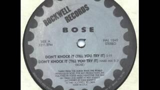 B.O.S.E. - Don