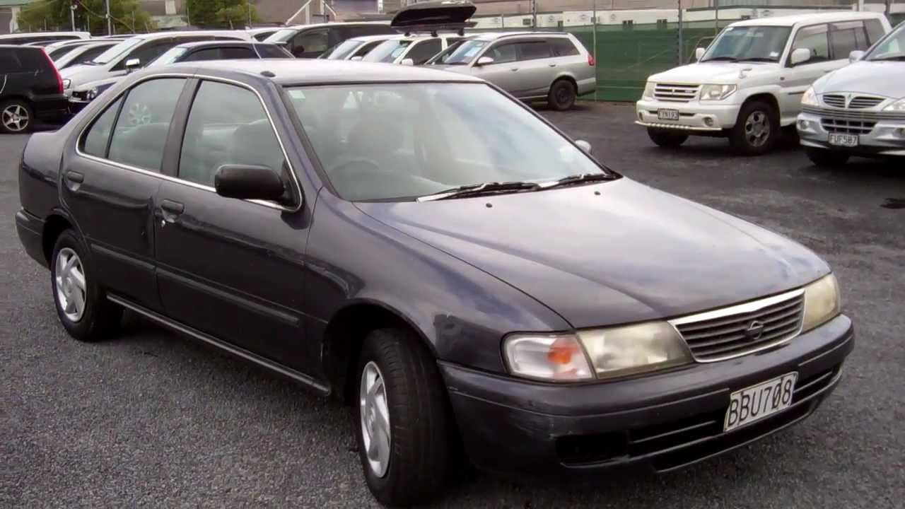 1996 Nissan Sunny $1 NO RESERVE!!! $Cash4Cars$ SOLD - YouTube