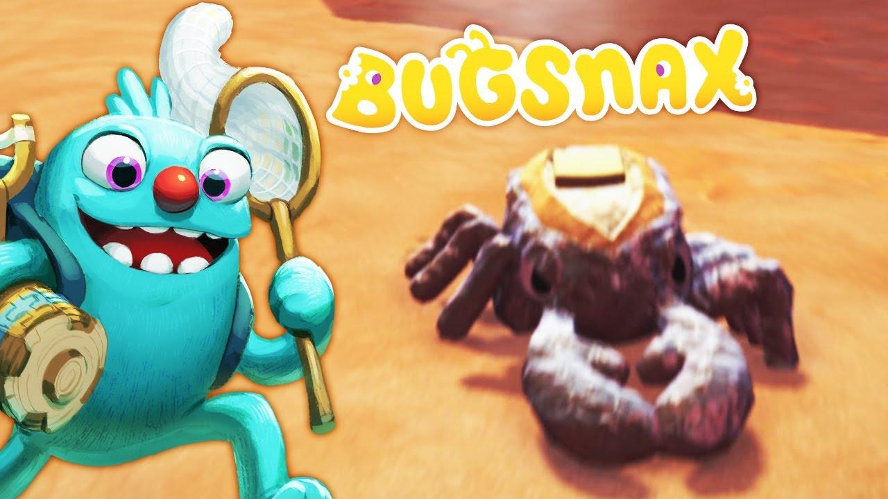 ОХОТА на ЖИВЫЕ ВКУСНЯШКИ #5 Пустынные ЖукоНямки в игре Bugsnax
