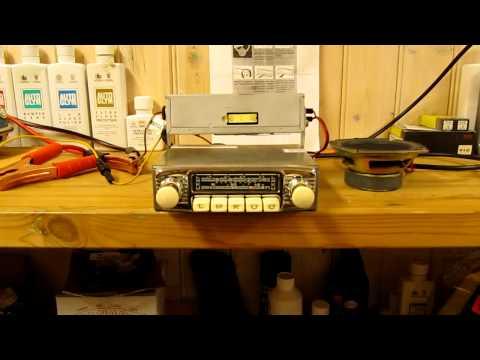 Blaupunkt Frankfurt FM vintage car radio