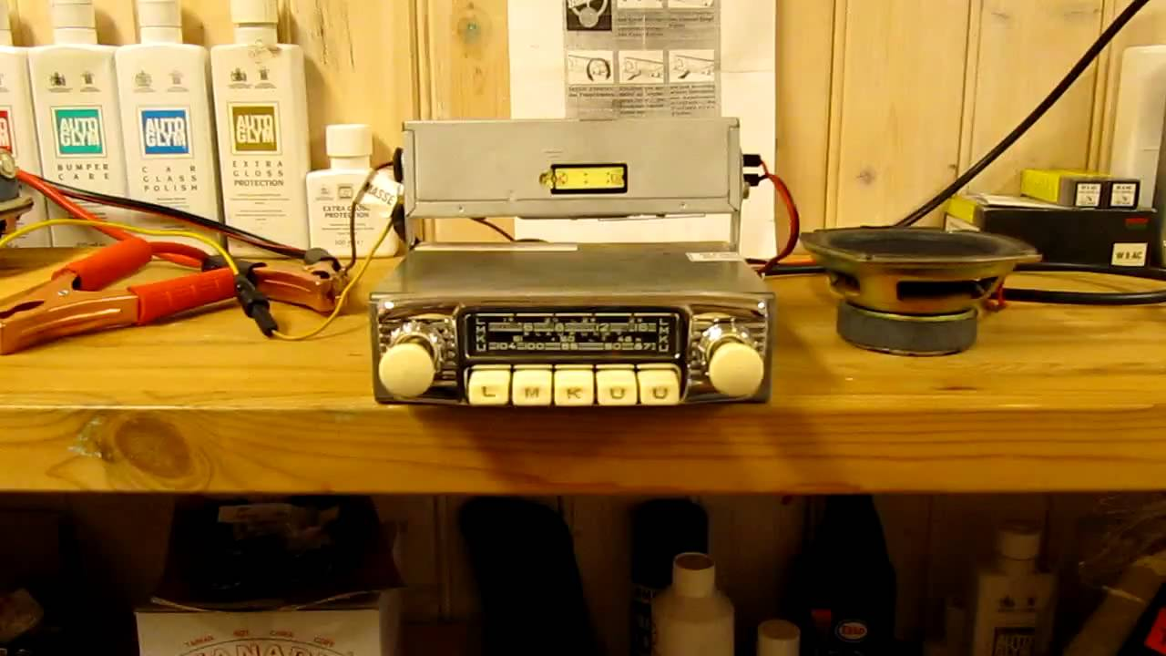 blaupunkt frankfurt fm vintage car radio youtube. Black Bedroom Furniture Sets. Home Design Ideas