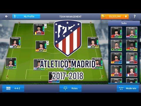 ATLETICO MADRID 2017-2018 - MOD DREAM LEAGUE SOCCER 2017 SAVE DATA