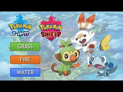 Pokemon Sword And Shield Starter Analysis And Evolution Speculation