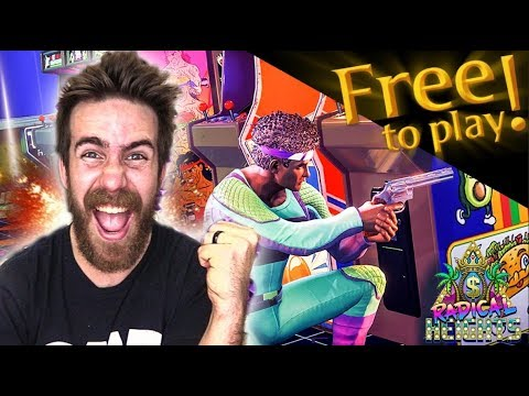 AWESOME NEW FREE TO PLAY BATTLE ROYALE GAME - RADICAL HEIGHTS