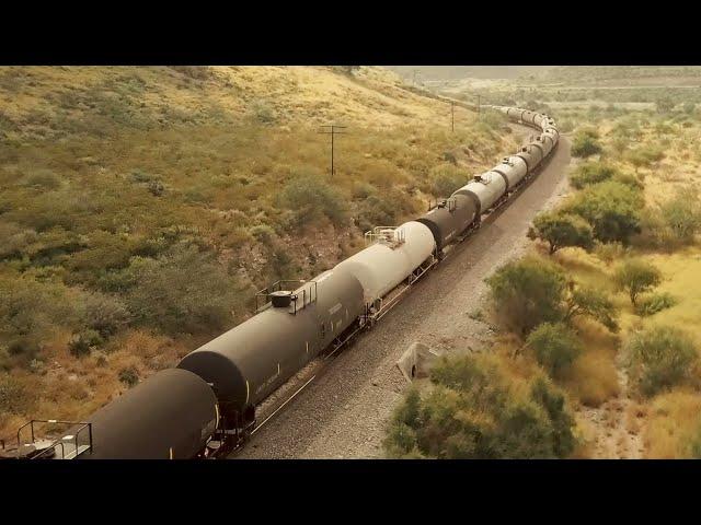 El tren de carga es … lo que tú necesitas.