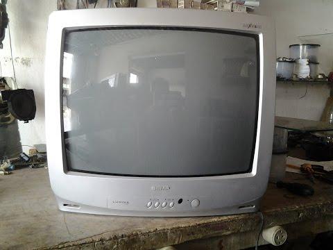( 48 )# TV SEMP TOSHIBA ACENDE O LED MAS NÃO FUNCIONA