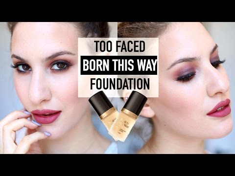 Too Faced BORN THIS WAY Foundation First Impression + Review | JamiePaigeBeauty