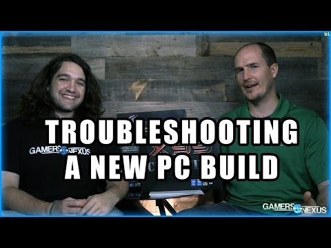 Basic PC Build Troubleshooting Steps - PC Won't Boot or
