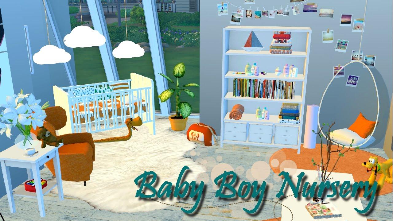 The Sims 4 - Baby Boy Nursery - YouTube