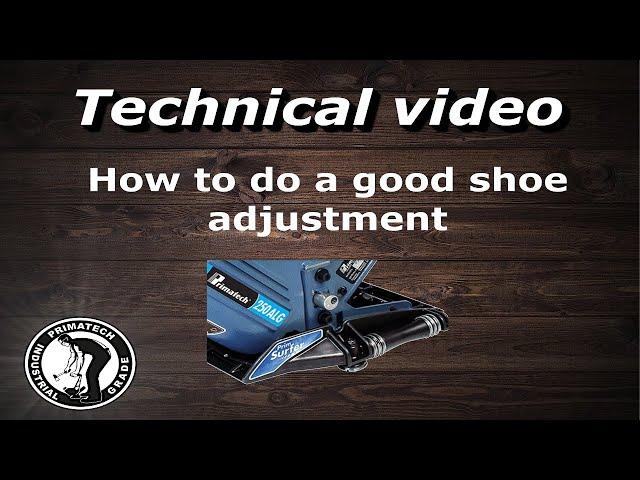 Roller Base Adjustment