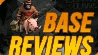 My first COC live stream come and join     BASE REVIEW    