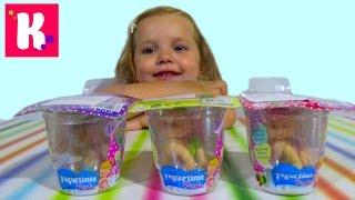 Катя и её новые куклы