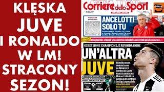 Klęska Juventusu i Cristiano Ronaldo w LM! Stracony sezon!