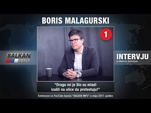 INTERVJU: Boris Malagurski - Drago mi je što su mladi izašli na ulice da protestuju! (16.05.2017)