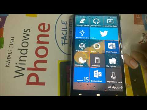 Windows 10 Technical Preview for smartphone (10080) - Lumia 930