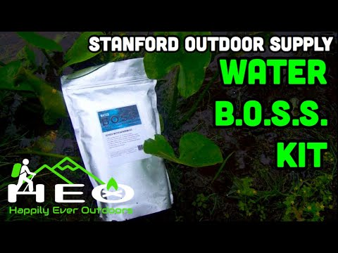 BOSS Water Kit by Stanford Outdoor Supply (Review)