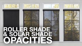 Roller Shades And Solar Shades Opacities Blinds Com MP3