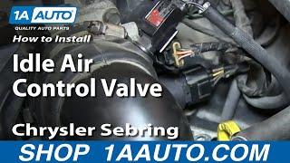 Sebring Dodge Stratus Jeep Liberty CPP Idle Control Valve for Chrysler PT Cruiser