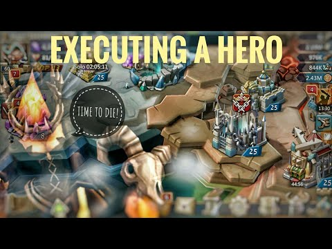Lords Mobile - Hero Execution