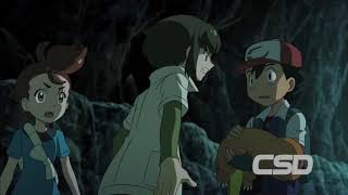 Ash finds Sorrel in cave | Pokemon The Movie I Choose You