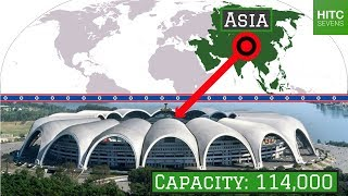 The Largest Stadium in Each of the World