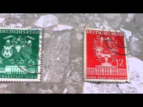 German Postage Stamps - Deutsches Reich - Wien