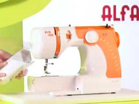 Máquina de coser ALFA 659 - YouTube