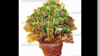 Terrific Toffee Diabetic Candy Bouquet