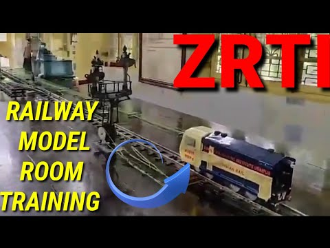 Railway model room training | ZRTI Udaipur | models train | railway training centre|Indian railway |