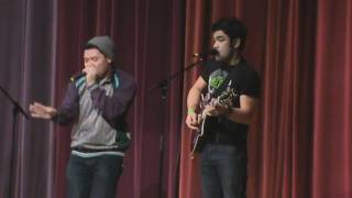 Gabe Bondoc & Leejay @ The MixTape UOP 2010 (Live Performance)