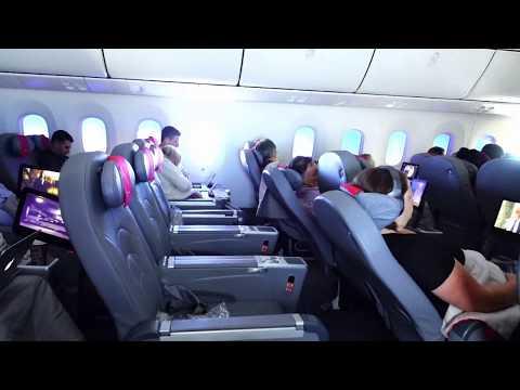Norwegian Premier Cabin Seat Features. 787 Dreamliner