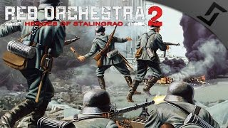 Relentless German Charge - Red Orchestra 2 Heroes of Stalingrad Elite Assault Gameplay
