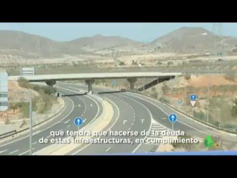 La corrupción legal en autopistas de los gobiernos de España