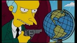 The Simpsons ~ GOD Bible Book ~ Flat Earth Under The Dome Bruce Willis ~ Nasa Farts~Cartoons Movies