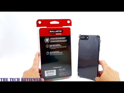 Ballistic Jewel for iPhone 7 Plus: An Inexpensive, Grippy Clear Case With 6 Ft Drop Protection!