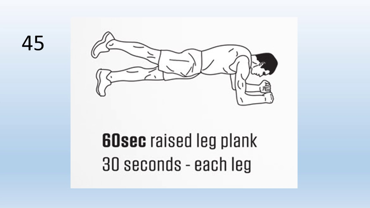 5 Min Plank With Timer