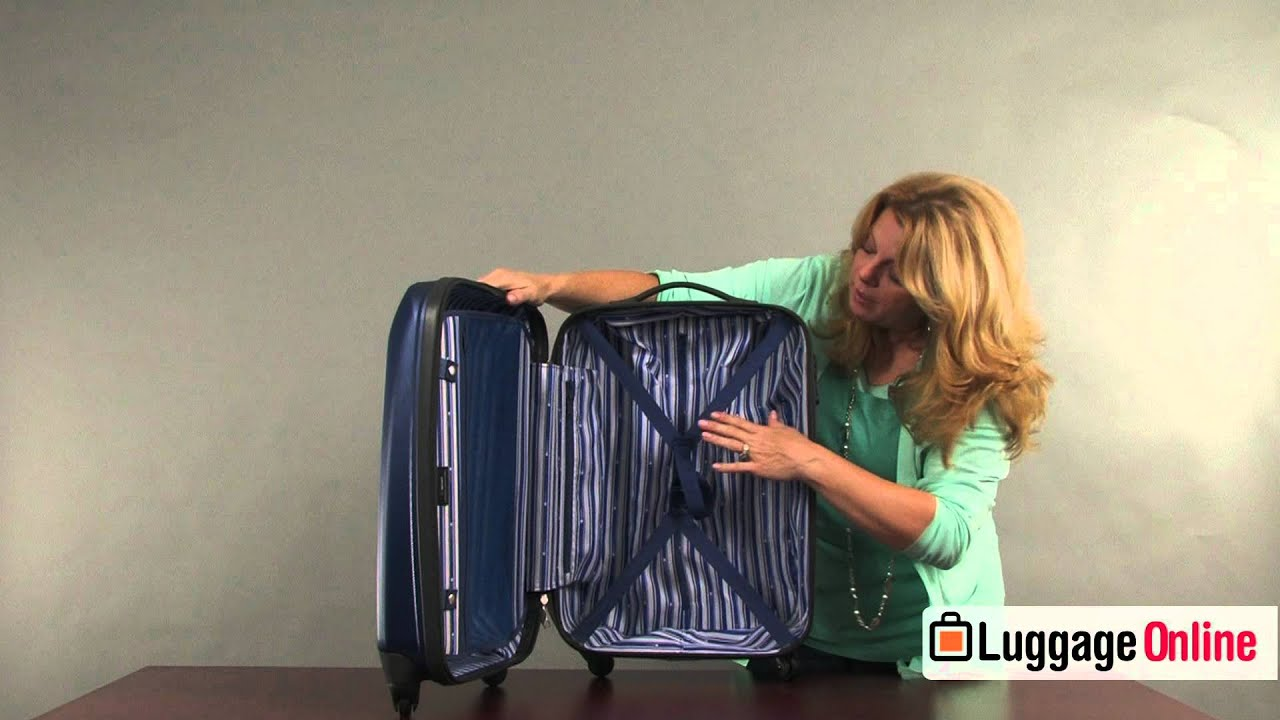 0e4045328 Delsey Helium Shadow Collection Hardside Spinner Review - Luggage Online